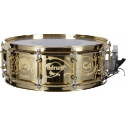 Ddrum Signature Snare Carmine Appice 5X14 Brass