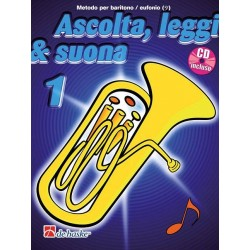 Ascolta Leggi e Suona Eufonio Chiave di Basso V1 + CD