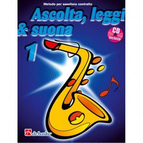 Ascolta Leggi e Suona SAX Alto V1 C/CD