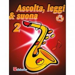 Ascolta Leggi e Suona Sax Alto V2 + CD