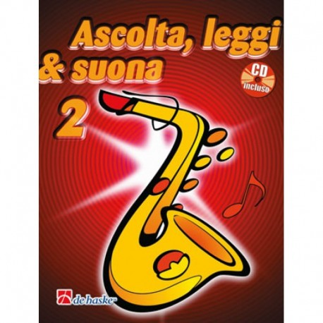Ascolta Leggi e Suona SAX Alto V2 C/CD