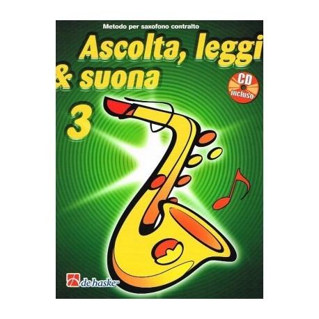 Ascolta Leggi e Suona Sax Alto V3 C/CD