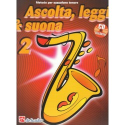 Ascolta Leggi e Suona Sax Tenore V2 + CD