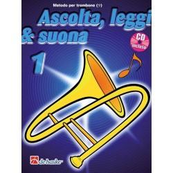 Ascolta Leggi e Suona Trombone Chiave di Violino V1 + CD