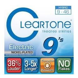 Cleartone 9419 Nichel Plated 009-046 Muta Corde Chitarra Elettrica