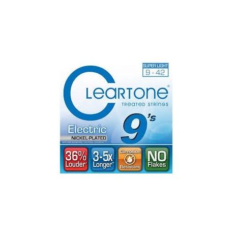Cleartone 9409 Nichel Plated 009-042 Muta Corde Chitarra Elettrica