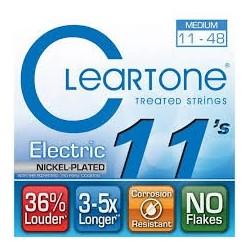Cleartone 9411 Nichel Plated 011-048 Muta Corde Chitarra Elettrica