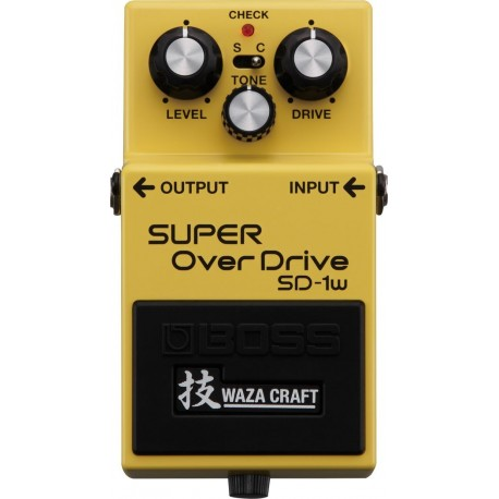 Boss SD1 w Overdrive