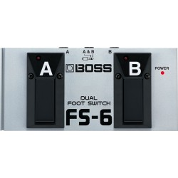 Boss FS6 Dual Pedal Switch