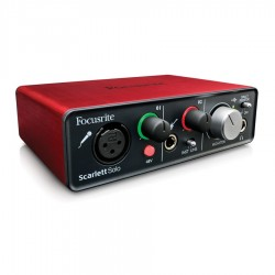Focusrite Scarlett Solo Interfaccia