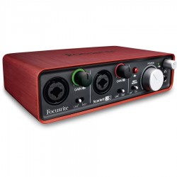 Focusrite Scarlett 2i2 Interfaccia