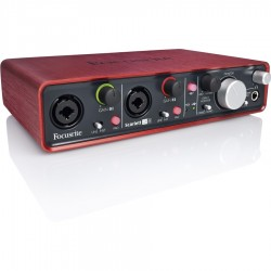 Focusrite Scarlett 2i4 Interfaccia
