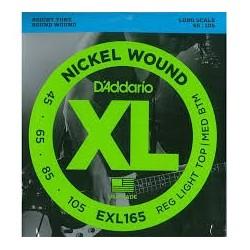 D'Addario EXL165 45-105 Muta Corde Basso Elettrico