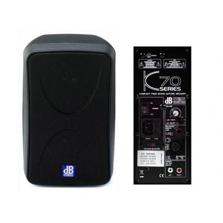 DB K70 Diffusore Attivo 100W