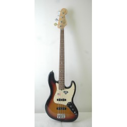 Fender American Standard '60s Anniversary Jazz Bass Rosewood Fingerboard 3 Color Sunburst