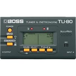 Boss TU80 Accordatore Metronomo