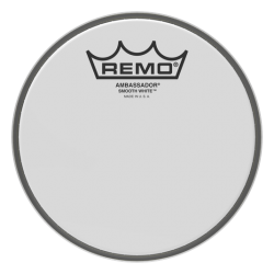 Remo Ambassador Smooth White 6''