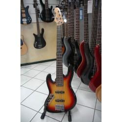 Mari Jazz Bass Sunburts 5 Corde Basso Elettrico Left