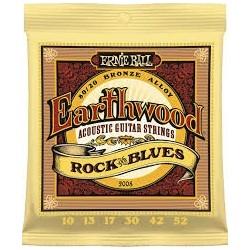 Ernie Ball Earthwood 80/20 Bronze 2008 010-052 Muta Corde Chitarra Folk