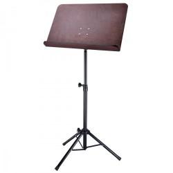 Soundsation SWMS-100 Leggio Cartella Legno con Borsa