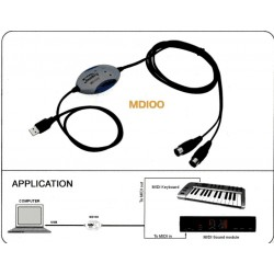 Soundking MD100 Midi USB Interfaccia