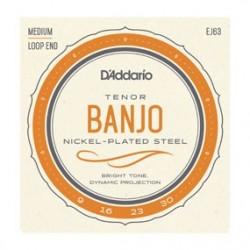 D'addario EJ63 Muta Banjo Tenore 5 Corde