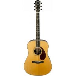 Fender PM-1 Deluxe Dreadnought Natural Chitarra Folk Elettrificata