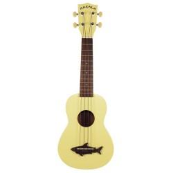 Makala MK-SS/YLW Ukulele Soprano Yellow Satinato