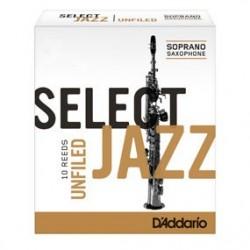 D'Addario RSJ UnFiled 3 Soft Ancia Sax Soprano
