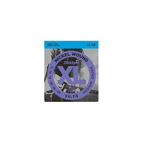 D'Addario EXL115 011-049 Muta Corde Chitarra Elettrica