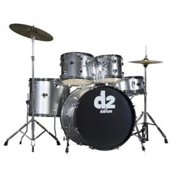 Ddrum D2 Brushed Silver