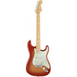 Fender American Deluxe Stratocaster Maple Fingerboard Sunset Metallic