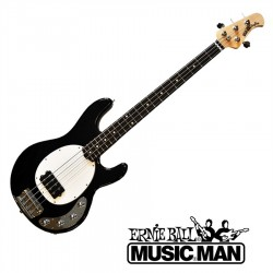Music Man Sterling Black Rosewood Fingerboard White Pickguard