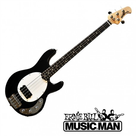 Music Man Sterling Black Rosewood Fingerboard White Pickguard