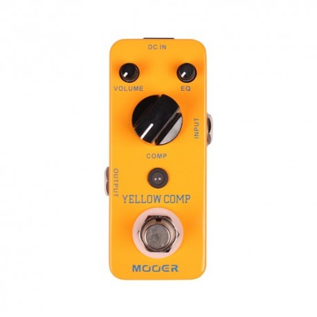 Mooer Yellow Pedale Compressore