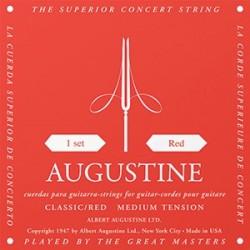 Augustine Classic Red Bass Medium Muta Corde Chitarra Classica