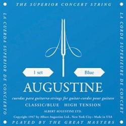 Augustine Classic Blue Bass High Tension Muta Corde Chitarra Classica