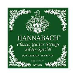 Hannabach 815LT Low Tension Muta Corde Chitarra Classica
