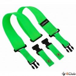 DiMarzio DD2200GN Tracolla Chitarra Clip Verde Acido