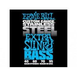 Ernie Ball Stainless Steel Slinky 2845 40-95 Muta Corde Basso Elettrico