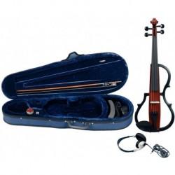 Gewa Violino Elettrificato Brown Set Completo