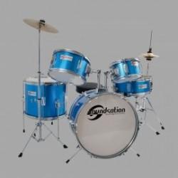 Soundsation JDK516-EB Batteria Completa Bambino Blue