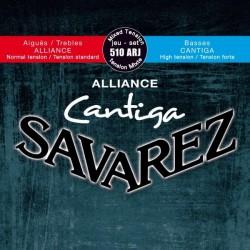 Savarez Alliance Cantiga 510ARJ Muta Corde Chitarra Classica