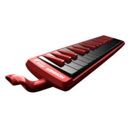 Hohner 800072 Melodica Student SI-DO 26 Tasti Red