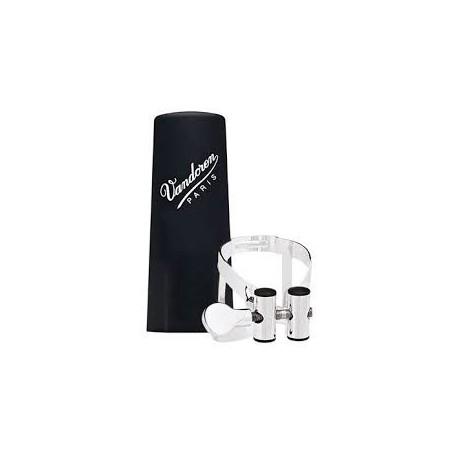 Vandoren M/O Silver Plated LC54SP Plastic Cap Clarinetto Basso