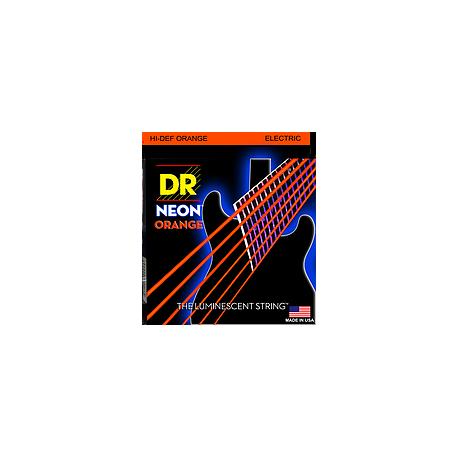 DR HI-DEF Neon Orange Muta Chitarra Elettrica 009-042
