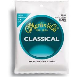 Martin M120 Muta Corde Chitarra Classica Tensione Forte