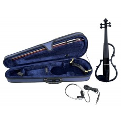 Gewa 401647 Violino Elettrificato Black Set Completo