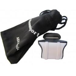 Solexa Thumbport Appoggia Pollice Plastica Flauto Traverso Black/Grey