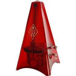 Wittner Tower Line C\Campanella Metronomo Trasparente Rosso